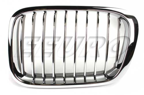 Kidney Grille - Front Driver Side (Chrome) 51138208489A Main Image
