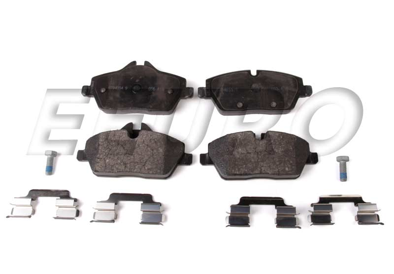 Disc Brake Pad Set - Front - Genuine Mini 34116794056
