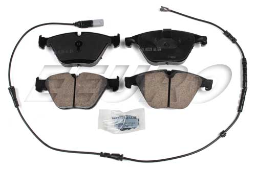 Click here for Disc Brake Pad Set - Front - Akebono EUR1505 BMW 3... prices