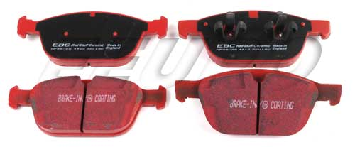 Click here for Disc Brake Pad Set - Front - EBC RedStuffs DP32018... prices