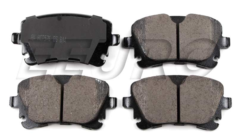 Disc Brake Pad Set - Rear EUR1018 Main Image