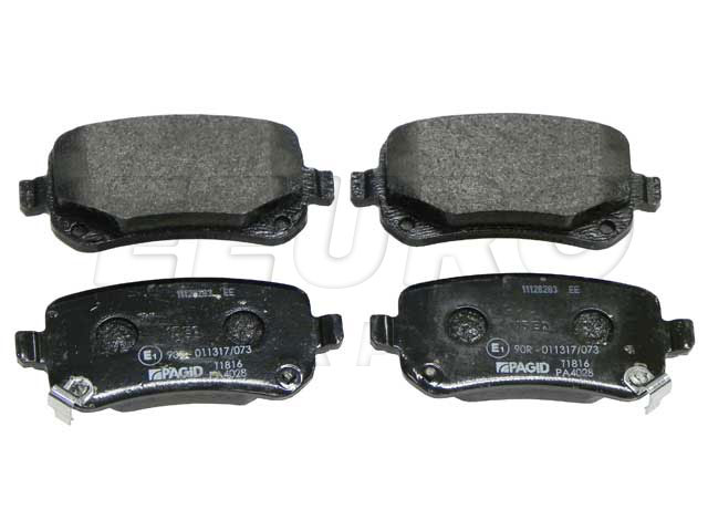 Disc Brake Pad Set - Rear - Genuine VW 7B0698451A