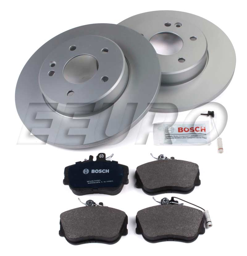 Mercedes Disc Brake Kit - Front (284mm) (Solid) (W202) - eEuroparts.com Kit