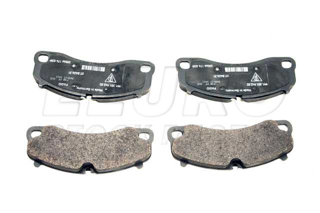 Disc Brake Pad Set - Front - Genuine Porsche 99135194782