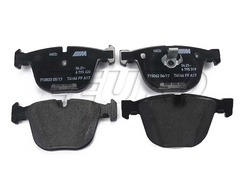 Disc Brake Pad Set - Rear - Genuine BMW 34216794879