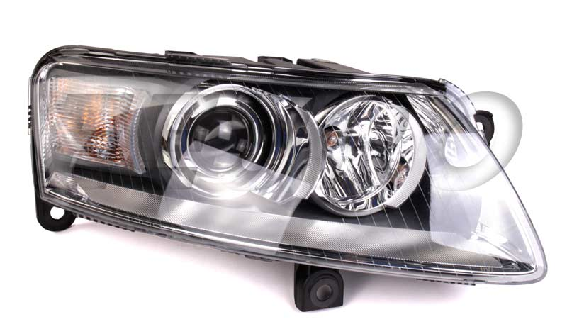 Headlight Assembly - Passenger Side (Xenon) - Hella 009701161 Audi 4F0941030EK