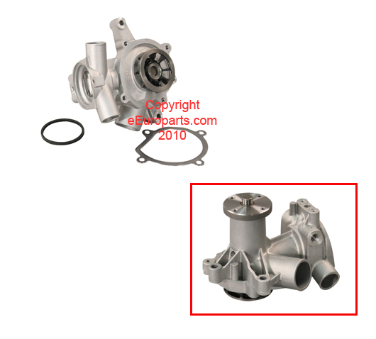 Engine Water Pump Kit 1269874 Main Image