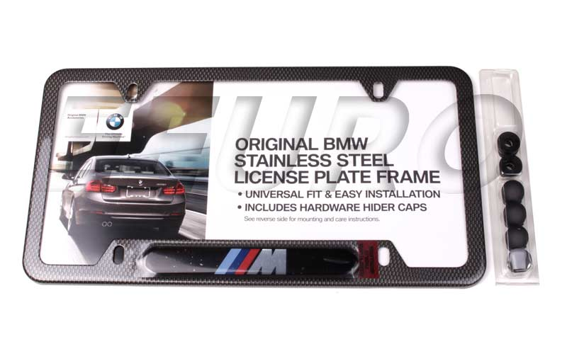 Bmw License Plate Frame 82120418625 Eeuroparts Com 174