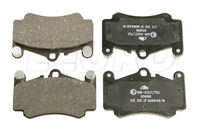 Disc Brake Pad Set - Front - Genuine Porsche 99635194912  Disc Brake Pad Set - Front