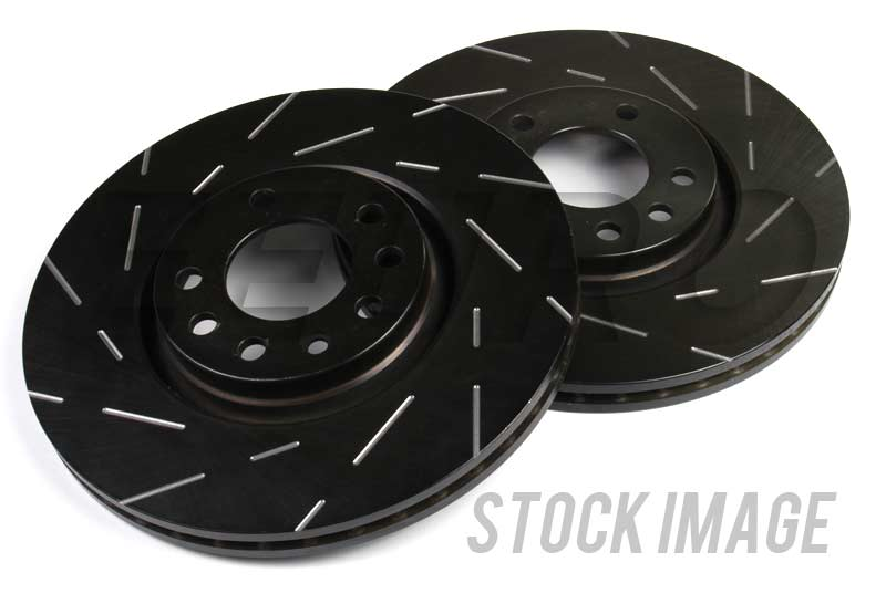 Disc Brake Rotor Set - Front (328mm) (Slotted) USR1808 Main Image