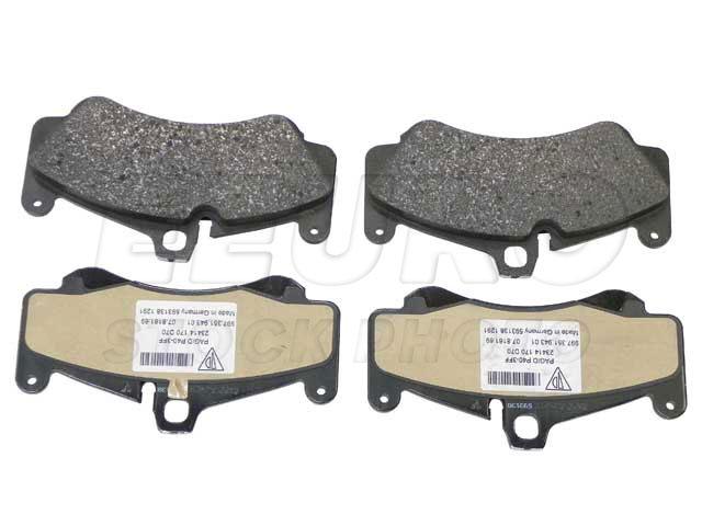 Disc Brake Pad Set - Front - Genuine Porsche 99735194801  Disc Brake Pad Set - Front