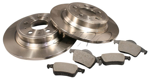 Disc Brake Service Kit (Rear) S60REARROTORKIT Main Image
