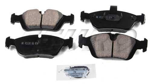 Click here for Disc Brake Pad Set - Front - Akebono EUR781 BMW 34... prices