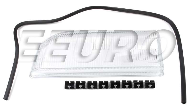 Headlight Lens - Driver Side - URO Parts 6817004