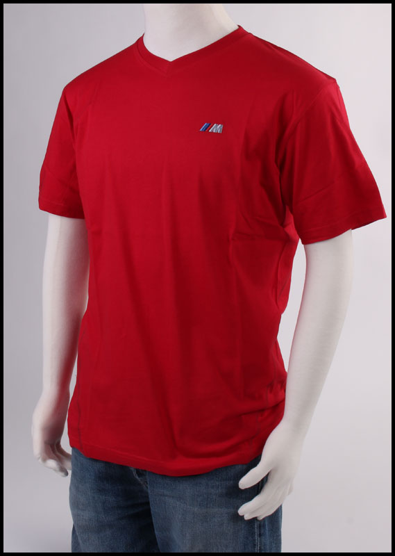V Neck Tee (Red) (XXLarge) 80142211698 Main Image
