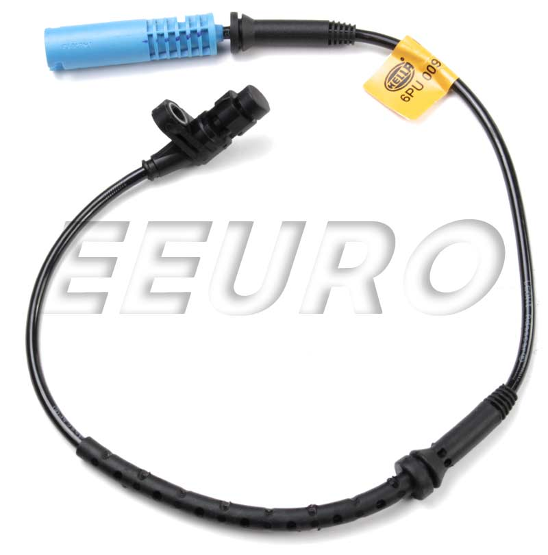 ABS Wheel Speed Sensor - Front - Hella 009106201 BMW 34526756373 009106201