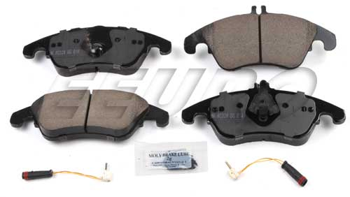 Click here for Disc Brake Pad Set - Front - Akebono EUR1342 Merce... prices