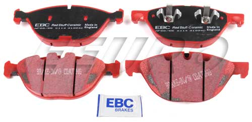 Click here for Disc Brake Pad Set - Front - EBC RedStuffs DP31994... prices