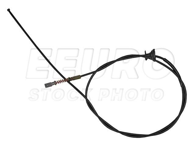 1238800159 - genuine mercedes - hood release cable