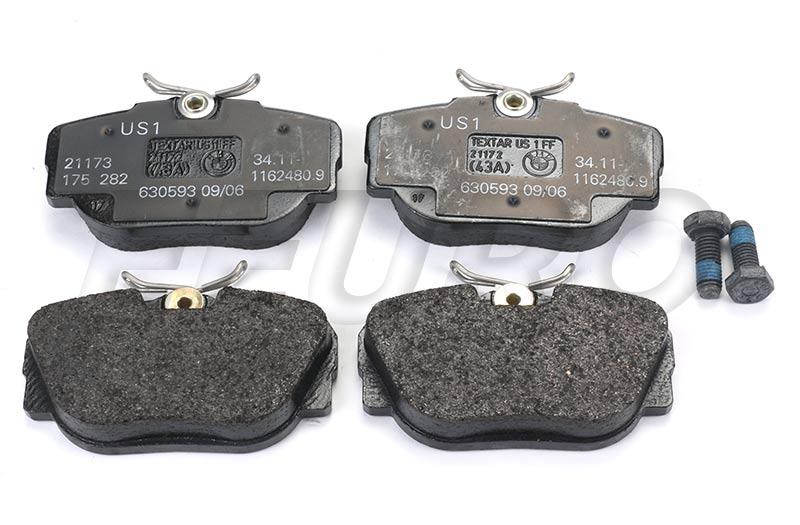 Disc Brake Pad Set - Front - Genuine BMW 34111162481