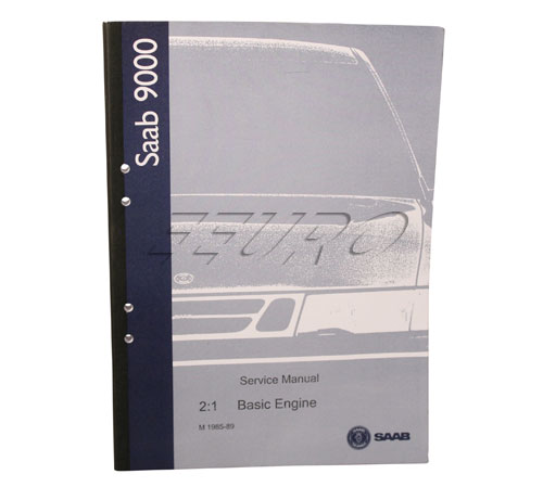 Service Manual (Basic Engine) - Genuine SAAB 0313346