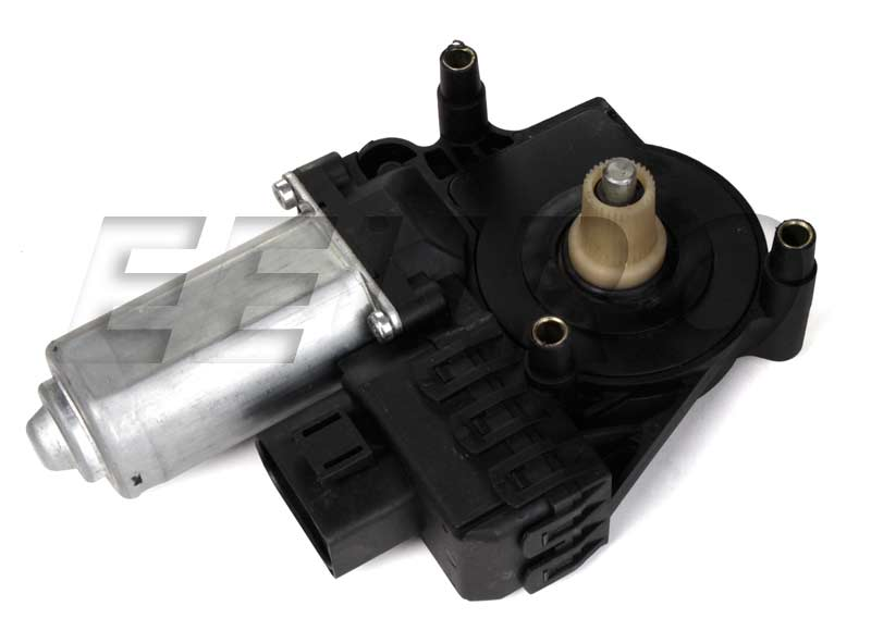 Audi power window motor rear driver side vemo for 2001 audi a6 window regulator