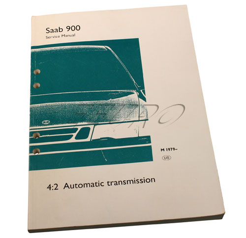 Service manual: Automatic transmission (type 35 & 37) - Genuine SAAB 0328930
