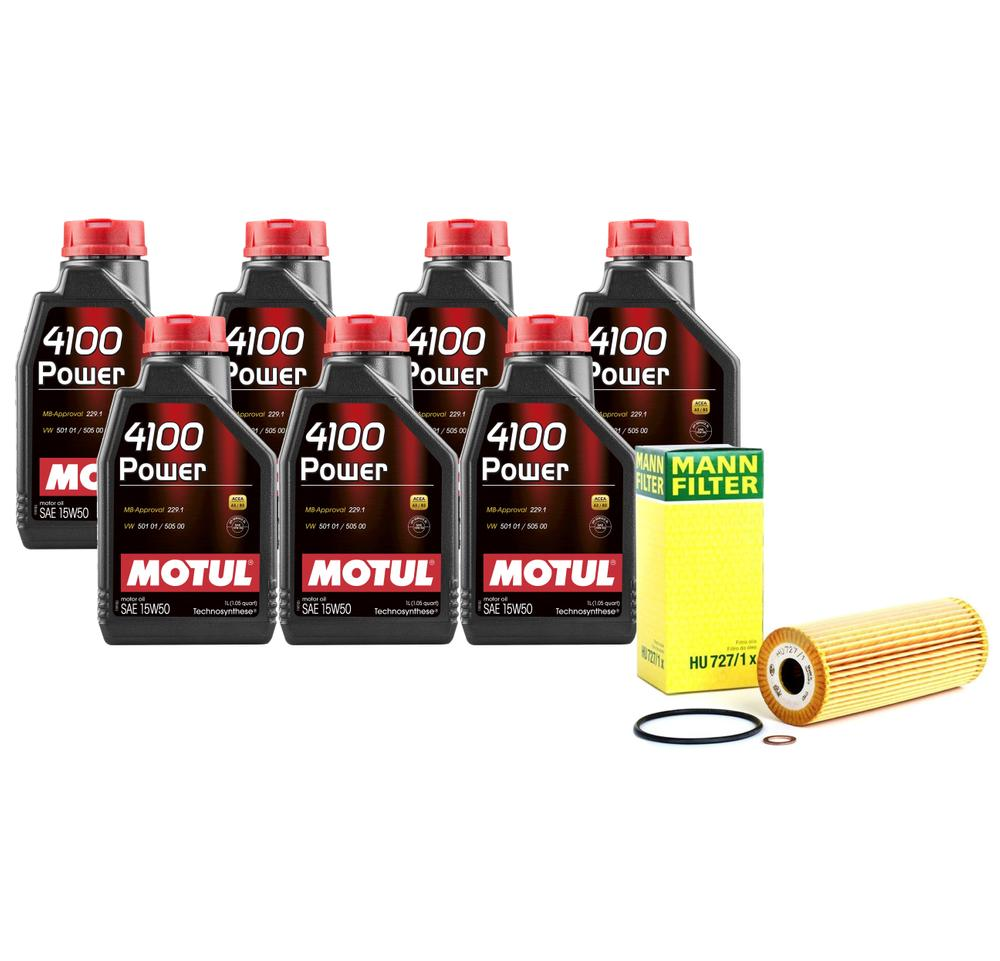 Mercedes Engine Oil Change Kit 1041800109 - Motul ...