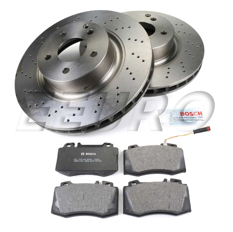 Mercedes Disc Brake Kit - Front (330mm) - eEuroparts.com Kit