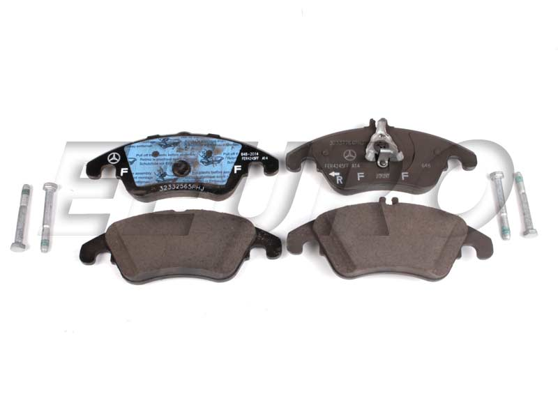 Disc Brake Pad Set - Front - Genuine Mercedes 0074205820