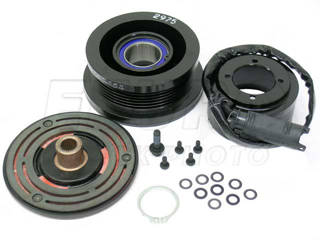 Supercharger Pulley Assembly - Genuine Mercedes 1110970128 1110970128