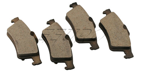 Disc Brake Pad Set - Rear BP973 Main Image