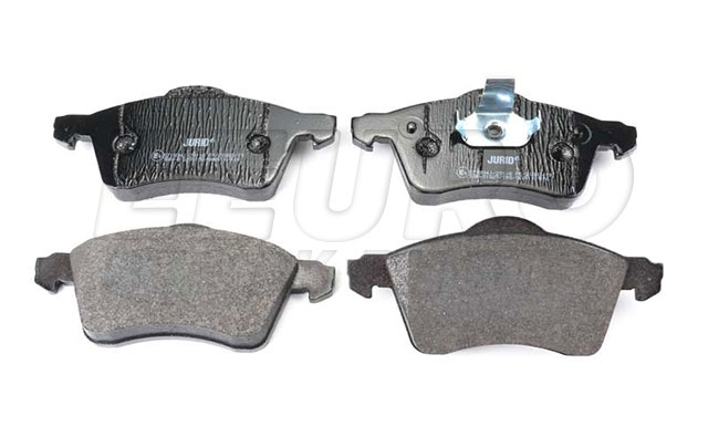 Disc Brake Pad Set - Front - Genuine VW 7D0698151E