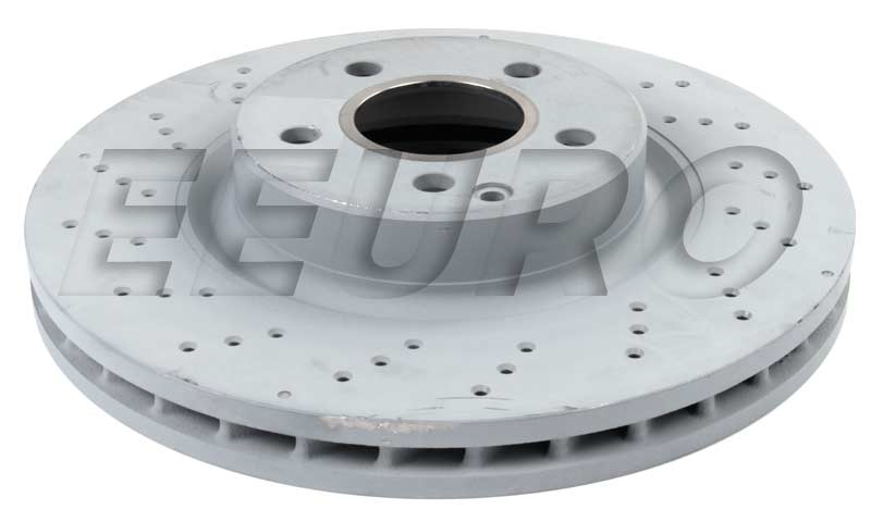 Disc Brake Rotor - Front (330mm) (Cross-Drilled) 2304210812 Main Image