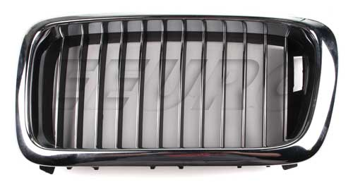 Kidney Grille - Front Driver Side (Chrome) - Genuine BMW 51138172279 51138172279
