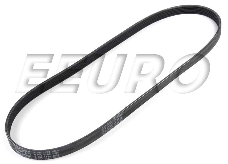 Accessory Drive Belt (6K 1180) - Continental 6K1180 BMW 11287636368