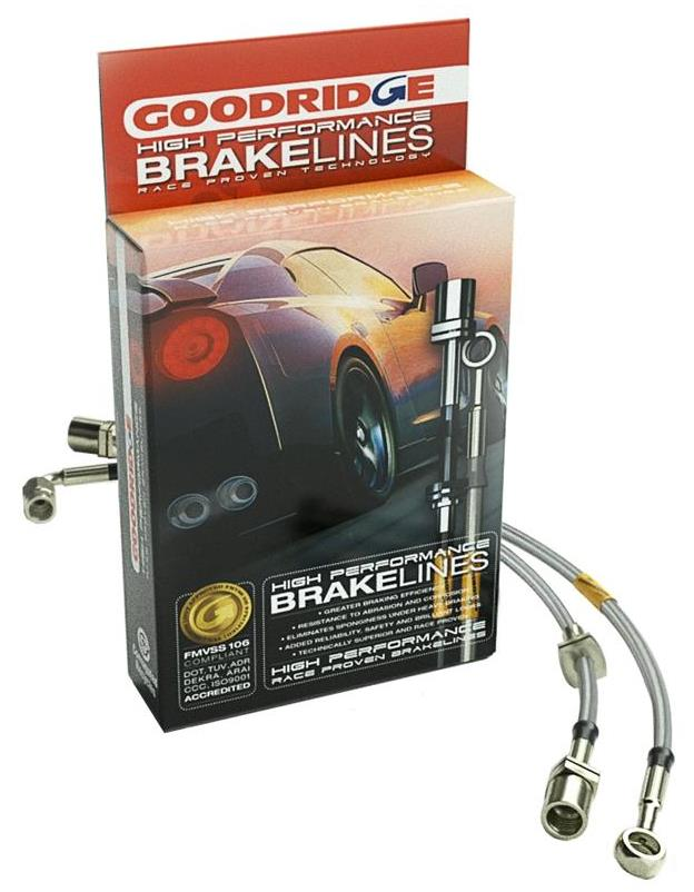 Brake Hose Kit (Stainless Steel) GR31002 Main Image