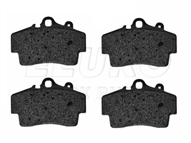 Disc Brake Pad Set - Front - Genuine Porsche 98735193903