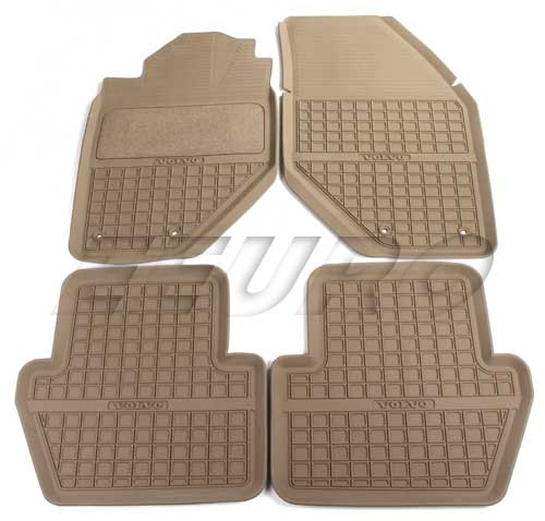 with black volvo floor stitching products gold mats diamond