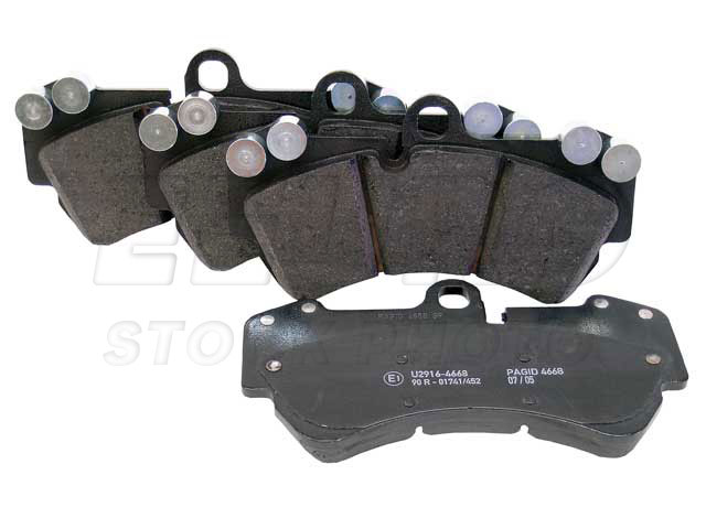 Disc Brake Pad Set - Front (330mm) - Genuine Porsche 95535193907