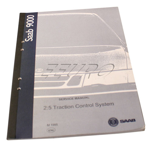 Service manual: Traction control system(TCS) - Genuine SAAB 0358010