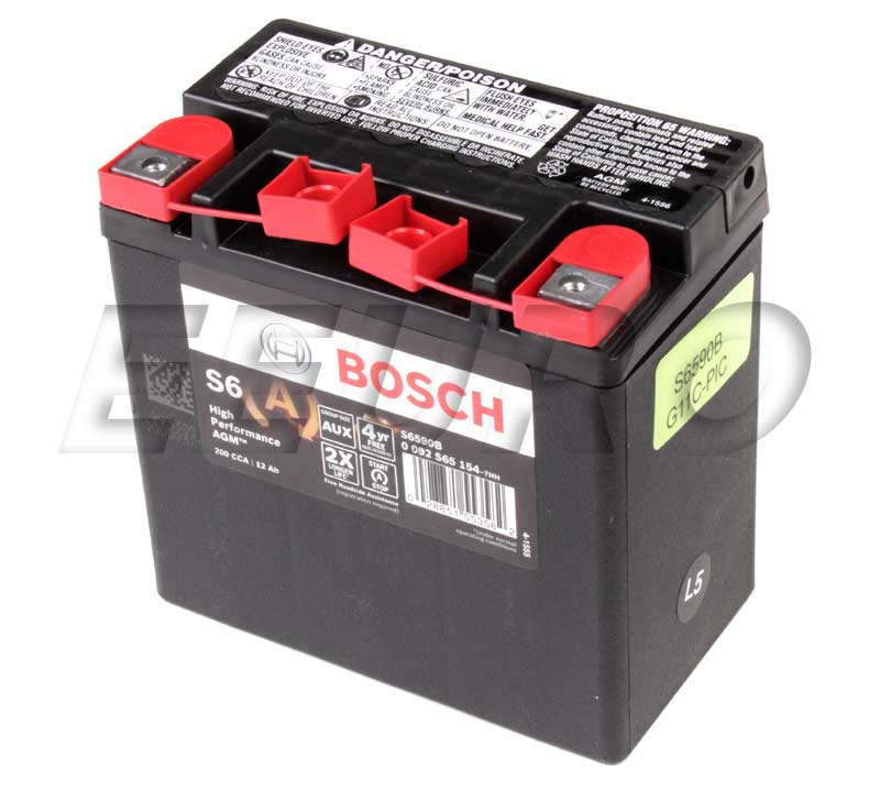 mercedes auxiliary battery 0009829608 bosch s6590b. Black Bedroom Furniture Sets. Home Design Ideas