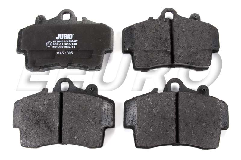 Disc Brake Pad Set - Front and Rear 573043J Main Image