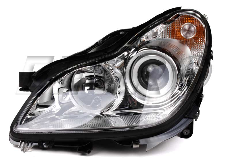 Headlight Assembly - Driver Side (Halogen) - Hella 008821051 Mercedes 2198204161