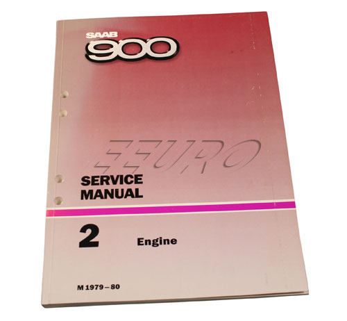 Service manual: Engine - Genuine SAAB 0321265