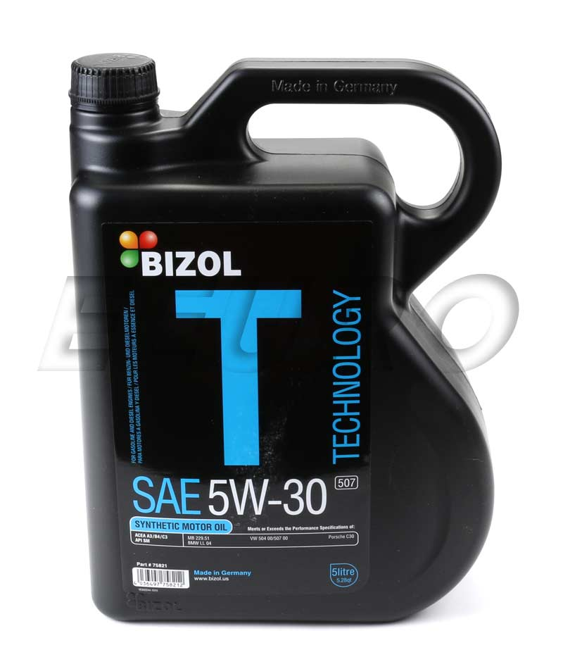 75821 bizol engine oil 5w30 5 liter technology free shipping available. Black Bedroom Furniture Sets. Home Design Ideas