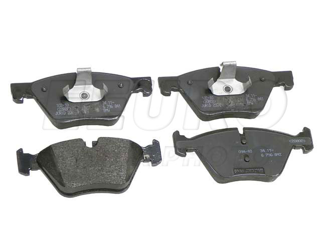 Disc Brake Pad Set - Front - Genuine BMW 34116872632