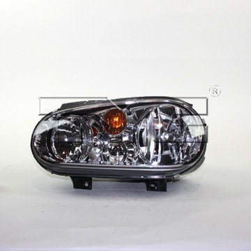 Headlight Assembly - Driver Side (Halogen) 20647470 Main Image
