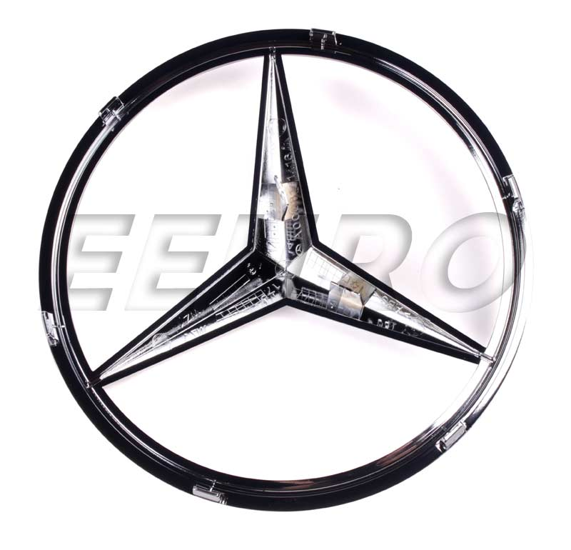 Genuine mercedes emblem front star 0008171416 free for Mercedes benz front emblem
