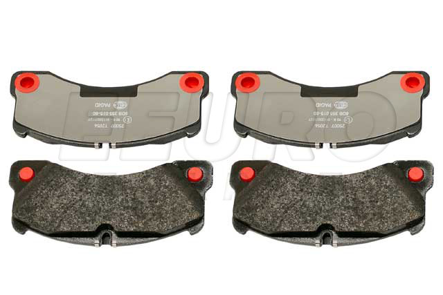 Disc Brake Pad Set - Front - Genuine Porsche 97035194904